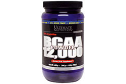 BCAA 12000 Powder (400г) от Ultimate Nutrition