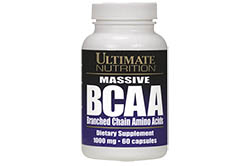 Massive BCAA 1000mg от Ultimate Nutrition
