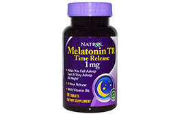 Melatonin Time Release 1mg от Natrol